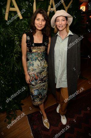 Jasmine Hemsley and Sienna Guillory