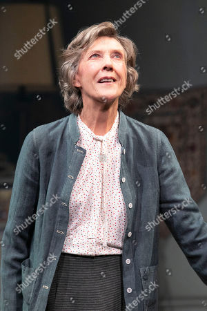 Eileen Atkins (Madeline) during the curtain call