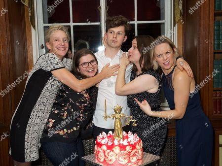 Lucy Bailey, Eleanor Lloyd, Harry Reid, Rebecca Stafford, and Lucy Phelps