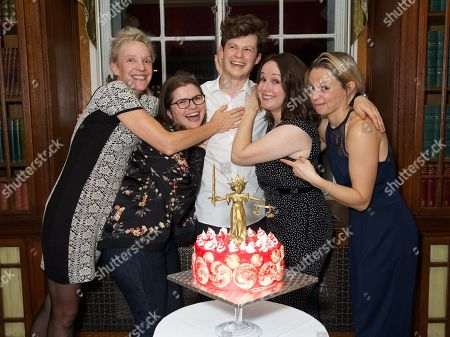 Stock Picture of Lucy Bailey, Eleanor Lloyd, Harry Reid, Rebecca Stafford, and Lucy Phelps