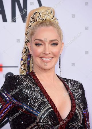 Stock Picture of Erika Jayne, Erika Girardi. Erika Jayne arrives at the American Music Awards, at the Microsoft Theater in Los Angeles
