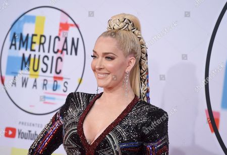 Editorial photo of 2018 American Music Awards - Arrivals, Los Angeles, USA - 09 Oct 2018