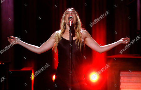 "LeAnn Rimes performs during ""An Opry Salute to Ray Charles"" at the Grand Ole Opry House in Nashville, Tenn"