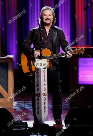 "Travis Tritt performs during ""An Opry Salute to Ray Charles"" at the Grand Ole Opry House in Nashville, Tenn"