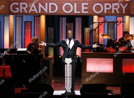 "Stock Photo of Darius Rucker performs during ""An Opry Salute to Ray Charles"" at the Grand Ole Opry House in Nashville, Tenn"