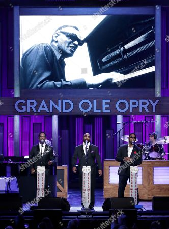 "Stock Picture of Boyz II Men perform during ""An Opry Salute to Ray Charles"" at the Grand Ole Opry House in Nashville, Tenn"