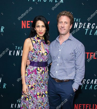 Stock Image of Huma Abedin, Zach Iscol