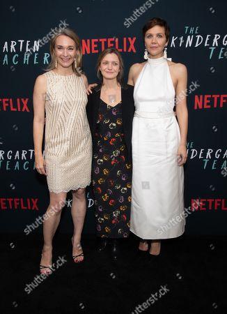 Celine Rattray, Sara Colangelo, Maggie Gyllenhaal