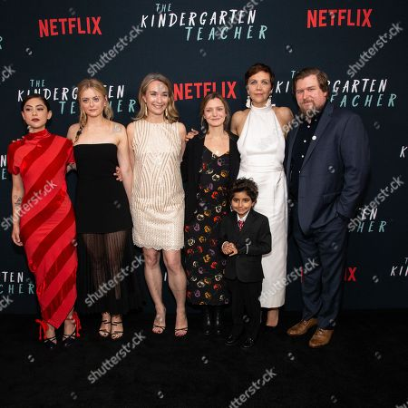 Editorial photo of 'The Kindergarten Teacher' film screening, New York, USA - 09 Oct 2018