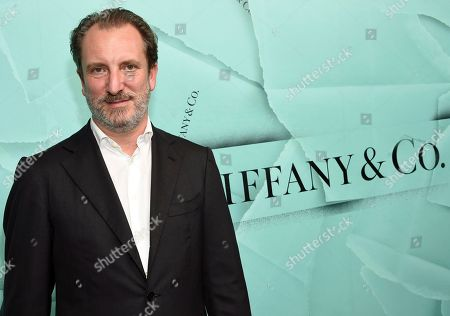 Tiffany & Co. CEO Alessandro Bogliolo attends the Tiffany & Co. 2018 Blue Book Collection: The Four Seasons of Tiffany celebration at Studio 525, in New York