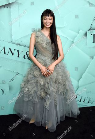 Yuka Mannami attends the Tiffany & Co. 2018 Blue Book Collection: The Four Seasons of Tiffany celebration at Studio 525, in New York