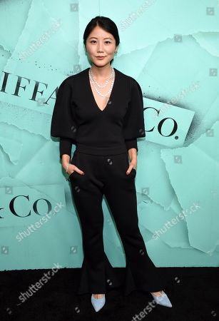 Alice Gao attends the Tiffany & Co. 2018 Blue Book Collection: The Four Seasons of Tiffany celebration at Studio 525, in New York