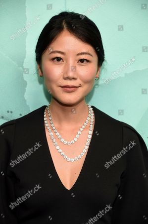 Stock Image of Alice Gao attends the Tiffany & Co. 2018 Blue Book Collection: The Four Seasons of Tiffany celebration at Studio 525, in New York