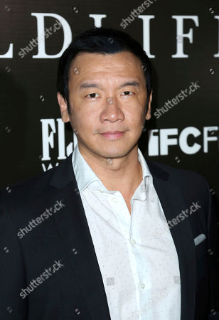 "Chin Han attends the LA Premiere of ""Wildlife"" at the ArcLight Hollywood, in Los Angeles"