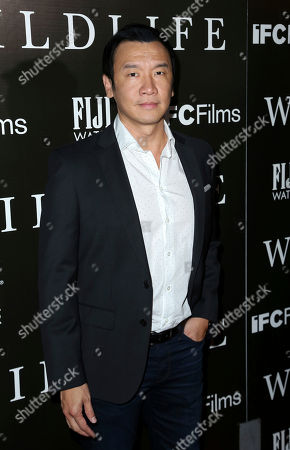 "Stock Picture of Chin Han attends the LA Premiere of ""Wildlife"" at the ArcLight Hollywood, in Los Angeles"