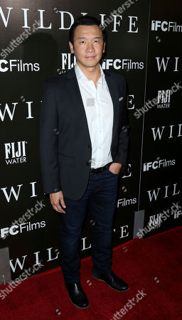 "Stock Image of Chin Han attends the LA Premiere of ""Wildlife"" at the ArcLight Hollywood, in Los Angeles"