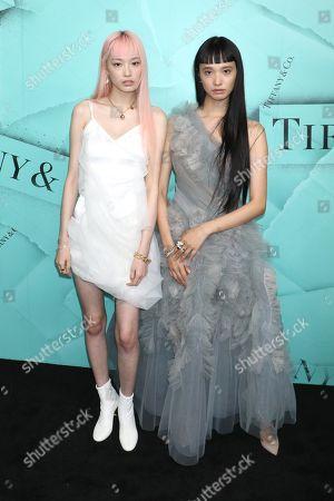Stock Photo of Fernanda Ly and Yuka Mannami