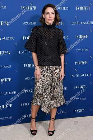 Claire Forlani attends Porter's 3rd Annual Incredible Women Gala at the Wilshire Ebell Theatre, in Los Angeles