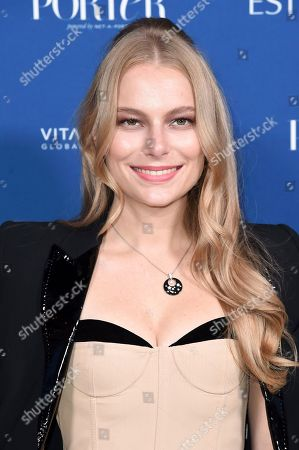 Danielle Lauder attends Porter's 3rd Annual Incredible Women Gala at the Wilshire Ebell Theatre, in Los Angeles