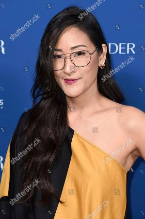 Lisa Nishimura attends Porter's 3rd Annual Incredible Women Gala at the Wilshire Ebell Theatre, in Los Angeles