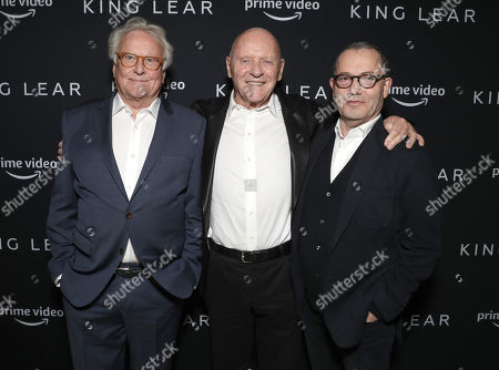 Sir Richard Eyre, Sir Anthony Hopkins, Sir Colin Callender