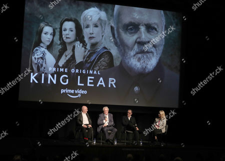 Sir Anthony Hopkins, Sir Richard Eyre, Sir Colin Callender, Tara Bennett