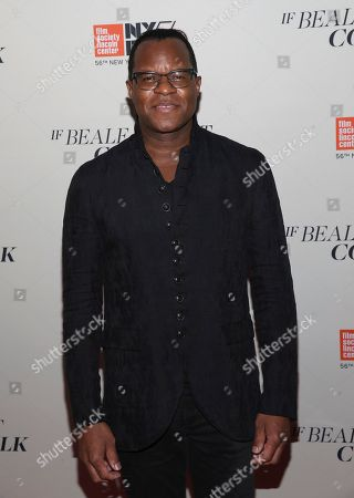 "Screenwriter Geoffrey Fletcher attends the ""If Beale Street Could Talk"" premiere during the 56th New York Film Festival at the Apollo Theater, in New York"