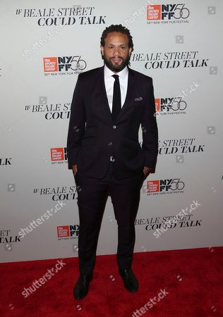 """Franklin Leonard attends the """"If Beale Street Could Talk"""" premiere during the 56th New York Film Festival at the Apollo Theater, in New York"""