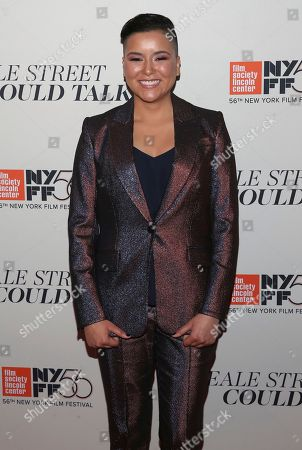 """Emily Rios attends the """"If Beale Street Could Talk"""" premiere during the 56th New York Film Festival at the Apollo Theater, in New York"""
