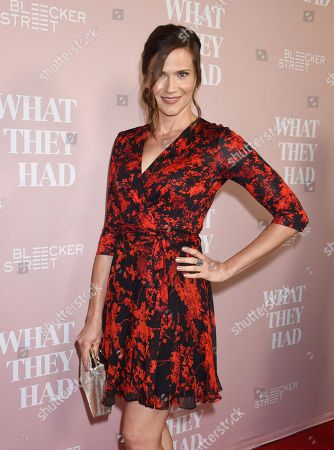 Editorial picture of 'What They Had' film screening, Los Angeles, USA - 09 Oct 2018