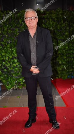 Stock Image of Australian screenwriter Andrew Bovell during the red carpet event for the Australian premiere of 'Hotel Mumbai' in Adelaide, Australia, 10 October 2018.