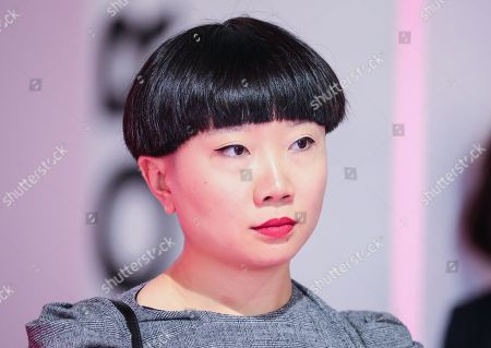Stock Picture of JiaJia Fei, Director of Digital at the Jewish Museum in New York, USA, attends the book fair 'Frankfurter Buchmesse 2018', in Frankfurt am Main, Germany, 10 October 2018. The 70th edition of the international Frankfurt Book Fair, described as the 'world's most important fair for the print and digital content business' runs from 10 to 14 October and gathers authors, writers and celebrities from all over the world. This year's Guest of Honour country is Georgia.