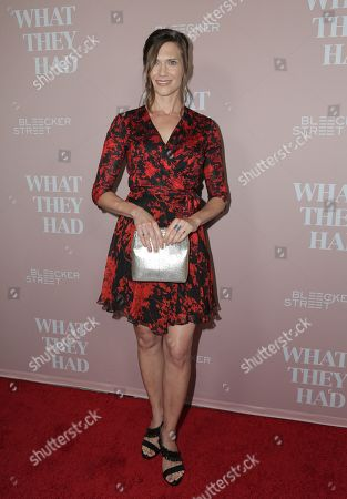 Editorial image of 'What They Had' film screening, Los Angeles, USA - 09 Oct 2018
