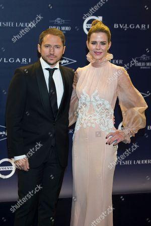 Manuel Martos and Amelia Bono