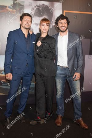 Stock Photo of Quique Maillo; Najwa Nimri ; Javier Pereira