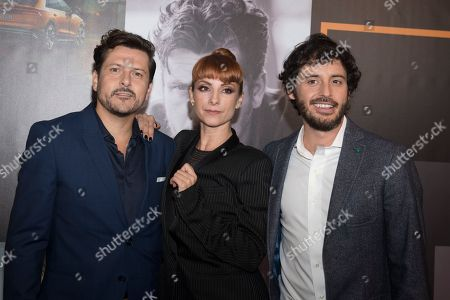 Editorial photo of 'The Octava Dimension' film premiere, Madrid, Spain - 09 Oct 2018