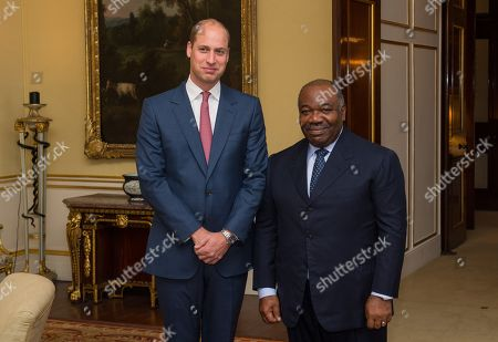 Editorial photo of Gabon Bilateral meeting at Buckingham Palace, London, UK - 10 Oct 2018