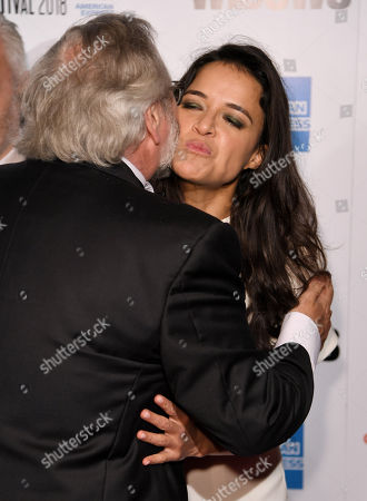 Sean Bobbitt and Michelle Rodriguez