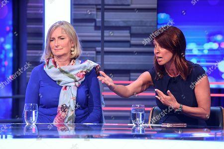Sarah Wollaston and Gloria de Piero
