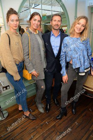 Renee Stewart, Amber Le Bon, Charles Rosier and Tess Ward
