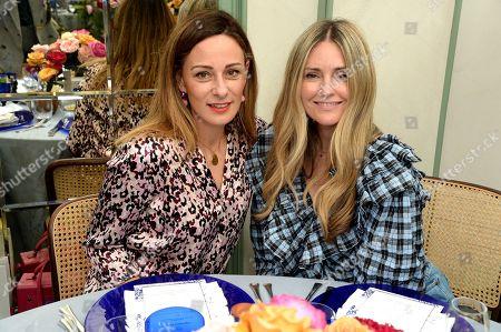 Stock Image of Melissa del Bono and Donna Ida