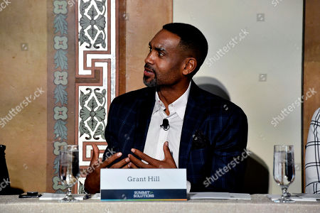 Grant Hill, NBA Hall of Famer, shares his story on pain management following surgery during the Summit for Solutions event focused on addressing the opioid epidemic. Hosted by the Partnership for Drug-Free Kids and Pacira Pharmaceuticals, in Washington