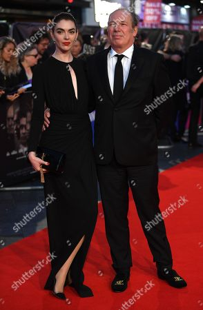 German-US composer Hans Zimmer (R) and his daughter Zoe Zimmer arrive at the Opening Night Gala presentation of the film 'Widows' at the BFI London Film Festival 2018, in London, Britain, 10 October 2018. The festival runs from the 10 to 21 October.