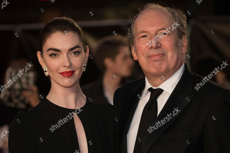 Zoe Zimmer, Hans Zimmer. Zoe Zimmer and Hans Zimmer pose for photographers upon arrival at the premiere of the film 'Widows' showing as part of the opening gala of the BFI London Film Festival in London