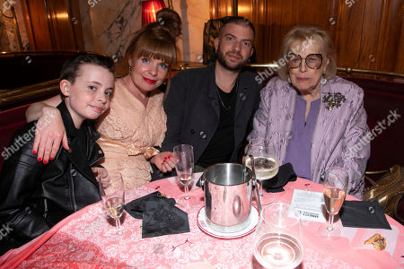 Lewin Lloyd, Suzie Toase, Jamie Lloyd (Director) and Antonia Fraser