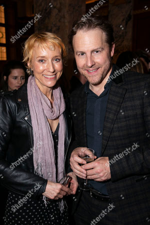 Lia Williams and Samuel West