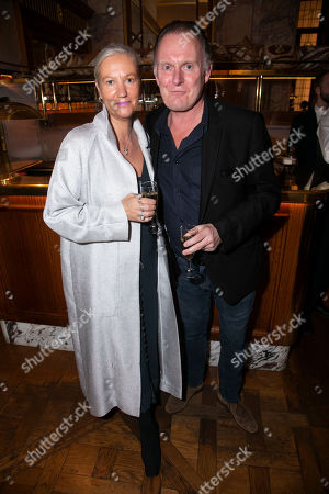 Stock Picture of Celia Glenister and Robert Glenister
