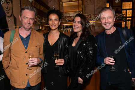 Stock Picture of Colin Tierney, Indira Varma, John Simm and Kate Magowan