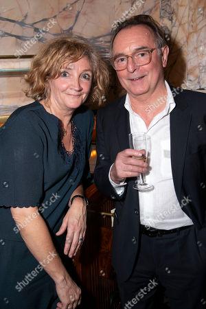 Debra Gillett and Ron Cook
