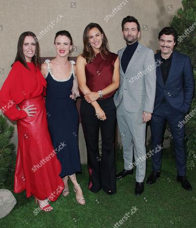 Ione Skye, Juliette Lewis, Jennifer Garner, David Tennant and Arturo del Puerto